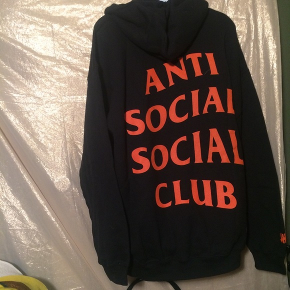 3b0d246ecb5b Xl anti social social club x undefeated hoodie